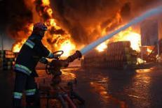 دانلود پاورپوینت آتش نشاني و اطفاء حريق